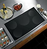 """GE PHP960SMSS Profile 36"""" Stainless Steel Electric Induction Cooktop"""