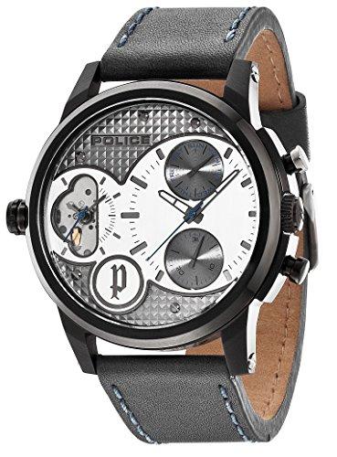 police-lincoln-orologio-analogico-da-polso-uomo-cinturino-in-pelle-grigio
