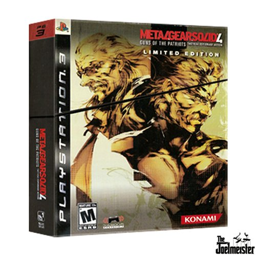 Metal Gear Solid 4: Guns of the Patriots Exclusive Limited Edition
