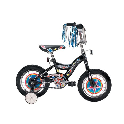 Micargi KIDCO Cruiser Bike, Black, 12-Inch