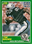 1989 #305 Tim Brown
