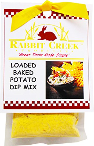 Rabbit Creek Products Loaded Baked Potato Vegetable Dip Mix, 2 Ounce (Pack of 12)