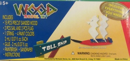 Tall Ship Wood Model Kit