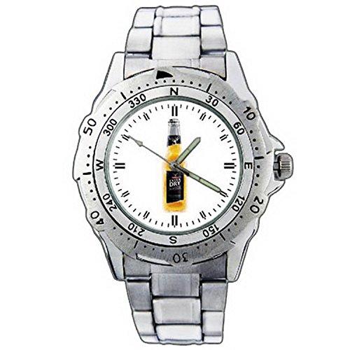 xze01-1292-tooheys-extra-dry-platinum-beer-bottle-stainless-steel-wrist-watch