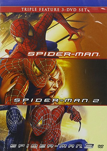 Spider-Man (2002) / Spider-Man 2 (2004) / Spider-Man 3 (2007) - Set (Spiderman 1 Dvd compare prices)