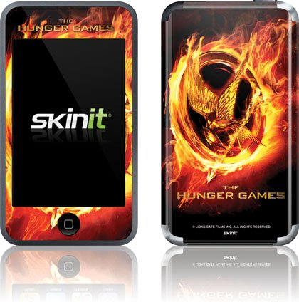 Skinit The Hunger Games Logo Vinyl Skin for iPod Touch (1st Gen)