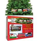 Santas Flying Christmas Tree Train..Christmas Musical Clocks Also available! ~ Christmas Decor/Clocks