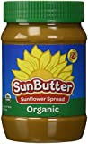 Sunbutter Sunflower Seed Spread Organic 16 oz Jar