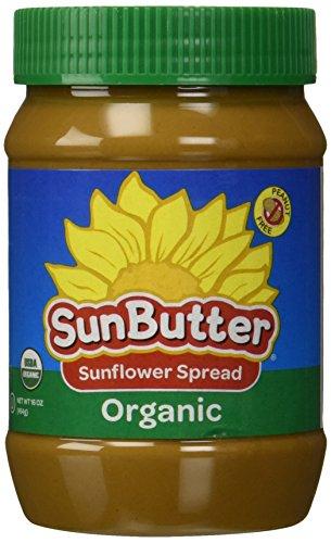 SunButter Organic Sunflower Seed Spread Creamy -- 16 oz (Peanut Butter Alternative compare prices)