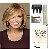 Bundle - 5 items: Upstage by Raquel Welch Wig, Christy's Wigs Q & A Booklet, Wig Shampoo, Wig Cap & Wide Tooth Comb (Color Selected: RL1012)