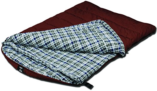 Grizzly 2 Person 0 Degree Canvas Sleeping Bag (Olive)