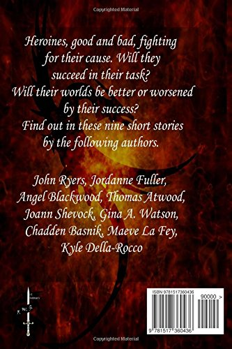 Curse of the Heroines: A Fantasy Writers Group Anthology