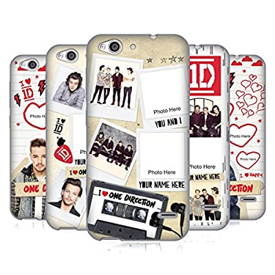 Custom Customized Personalized One Direction 1D Crazy Over You Gel Case For ZTE Phones