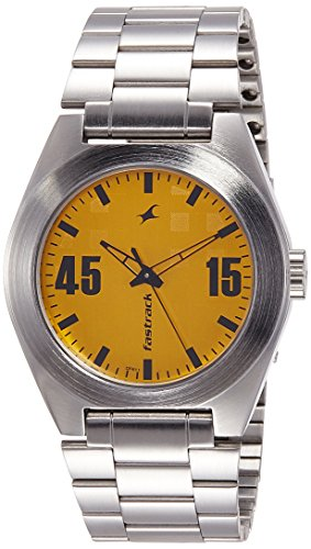 Fastrack-Analog-Yellow-Dial-Mens-Watch-3110SM04