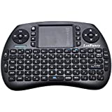 LotFancy 2.4GHz Mini Wireless Keyboard With Touchpad Mouse ,LED Backlit, Rechargable Li-ion Battery, For Raspberry...