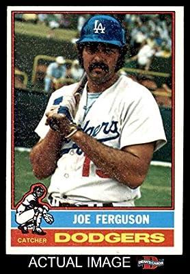 1976 Topps # 329 Joe Ferguson Los Angeles Dodgers (Baseball Card) Dean's Cards 5 - EX