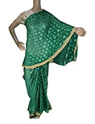 Beautiful RUDA Designer Phulkari Embroidered Saree-JS1119