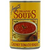 Amy's Organic Chunky Tomato Bisque, 14.5-Ounce Cans (Pack of 12) ~ Amy's Organic