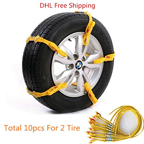 ronben-10pcs-set-new-reusable-tire-chain-car-suv-truck-snow-tire-antiskid-chain-safety-kit-dhl-free-