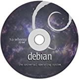 "Debian Linux 7.0 ""Wheezy"" on DVD – Full Live / Install version."