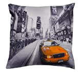 New York Taxi Cab Yellow Cushion Cover 17