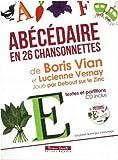 ABECEDAIRE EN 26 CHANSONNETTES (+CD)