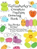 img - for Ed Emberley's Complete Funprint Drawing Book (Turtleback School & Library Binding Edition) book / textbook / text book