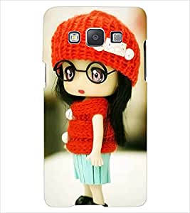 ColourCraft Cute Doll Back Case Cover for SAMSUNG GALAXY E7