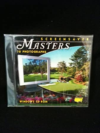 Screensaver Masters Golf- 70 Photographs from Augusta National Golf Club