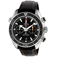 Omega Men's 232.32.46.51.01.005 Seamaster Planet Ocean Black Dial Watch by Omega