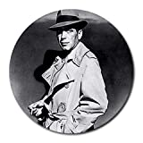 Humphrey Bogart Round Mousepad Mouse Pad Great Gift Idea