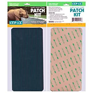 Loop-Loc Safety Cover Patch Kit - Green Mesh