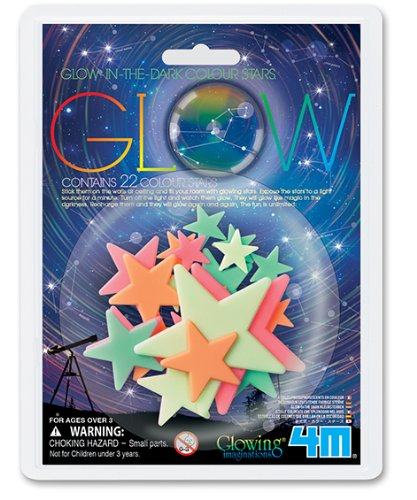 4M Glow Color Stars (22-Piece)