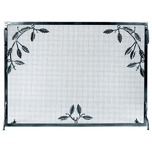 Minuteman International Single Panel Weston Fireplace Screen (Fireplace Screen Leaves compare prices)