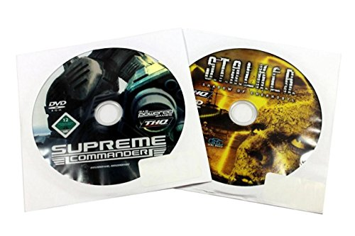 THQ Supreme Commander & Stalker Shadow of Chernobyl DVD Gaming Disk UU705 - 1