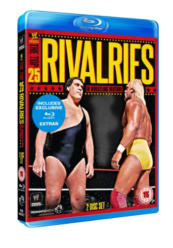 WWE  The Top 25 Rivalries in Wrestling History  Blu-ray   UK Import