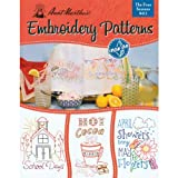 Aunt Marthas Four Seasons Embroidery Transfer Pattern Book Kit