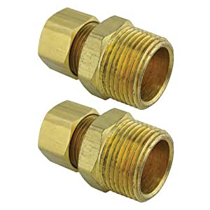 Rheem sp10354 pex fitting 3 4 npt x 1 2 tube compression for Pex water heater connector