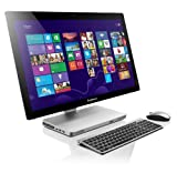 Lenovo A530 60,6 cm (23,8 Zoll LED) All-in-One Desktop-PC (Intel Core i5-4200M, 3,1GHz, 2,5GHz, 8GB RAM, 1TB HDD, NVIDIA GeForce GT 740M/2G, DVD-R, Touchscreen, Win 8) silber