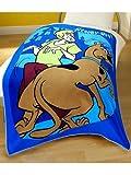 Scooby Doo Fleece Blanket Printed Design 125 X 150cm