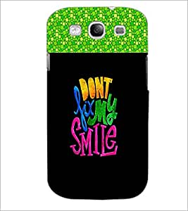 PrintDhaba Quote D-2678 Back Case Cover for SAMSUNG GALAXY S3 (Multi-Coloured)