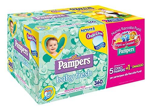 pampers-baby-fresh-salviettine-360-pezzi