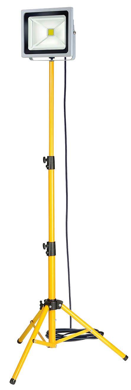Brennenstuhl ChipLED Leuchte, 50 W IP65 5 m H07RNF 3G1,0 mit Stativ 1171250504  BaumarktKundenbewertung und weitere Informationen