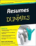 img - for Resumes For Dummies 6th (sixth) Edition by Kennedy published by For Dummies (2011) book / textbook / text book