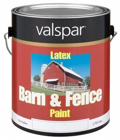 1 Gallon Red Exterior Barn & Fence Latex Paint 18-3121-10 GL (Barn Red Paint compare prices)