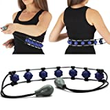 Aylio Self Massager with 7 Rolling Beaded Balls