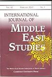 International Journal of Middle East Studies (The Middle East Studies Association of North America, vol. 42)