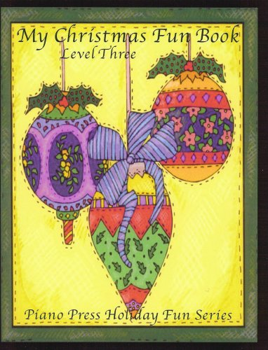 My Christmas Fun Book Level Three (Holiday Fun Series)