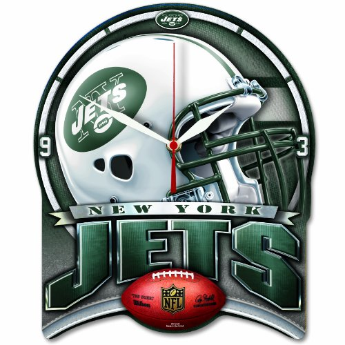 NFL New York Jets High Definition Clock at Amazon.com