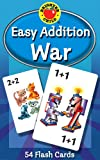 Easy Addition War (Brighter Child Flash Cards)